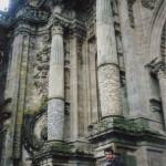 Jose in Santiago de compostela